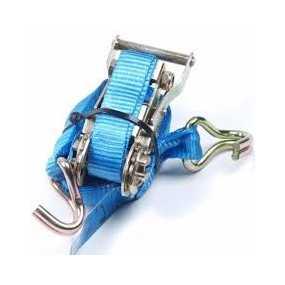 Spanband 28 mm Lang 5 m. blauw