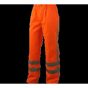 Werkbroek oranje met RWS...