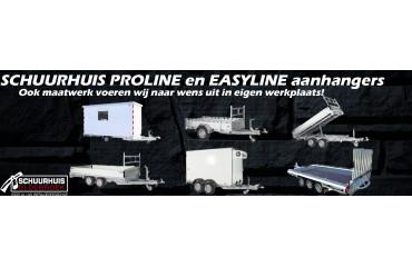 Dealer Proline & Easyline aanhangwagens