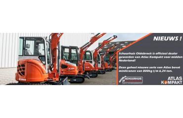 Schuurhuis wordt Atlas Kompakt dealer voor midden Nederland !